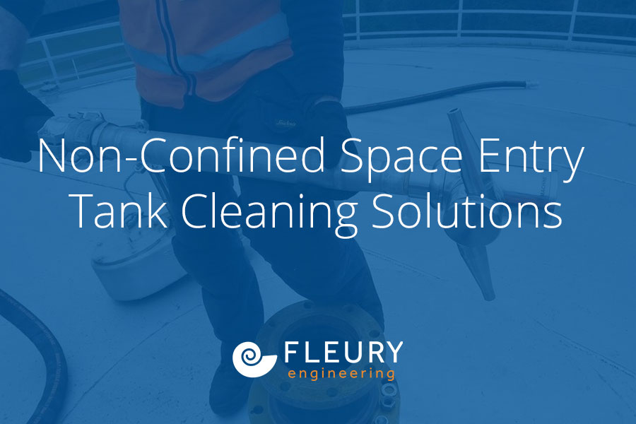 Non-Confined Space Entry Tank Cleaning Solutions