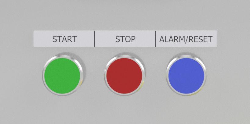 Start, Stop, Reset Buttons